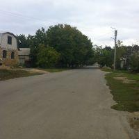 Перекресток, начало Ул. Киевская - ул.Пушкинская, Березовка