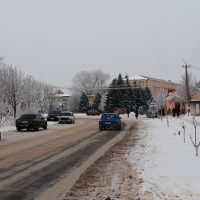 центр ВМ зимой, Великая Михайловка