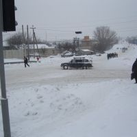 остановка зима, Великодолининское