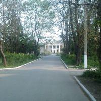 Вид с перекрёстка на клуб, Великодолининское