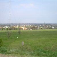 near Velykodolynske, Великодолининское