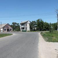 Перехрестя вулиць Бебеля - Кооперативна, Великодолининское