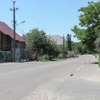 Перехрестя вулиць Карла Маркса - Крупської, Великодолининское