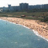 пляж с птичьево полёта, Ильичевск