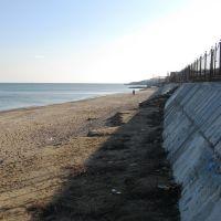 Пляж Бугово, Март 2010, Ильичевск