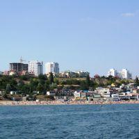 Пляж и куреня, август 2009, Ильичевск