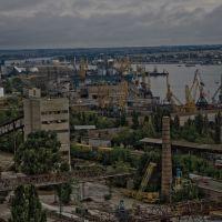 Industrial Scenery / Индустриальный пейзаж, Ильичевск