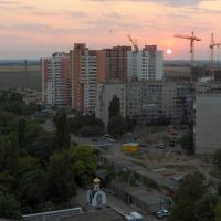 Illichivsk in the evening_1, Ильичевск