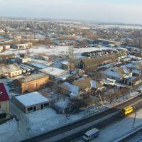 Вид с элеватора 3, Котовск