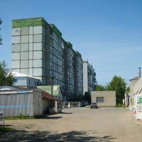 Вид на военный городок., Котовск