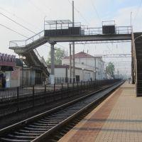 Пішоходний міст на станції Котовськ, Котовск