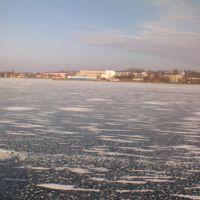Лёд на лимане, Овидиополь