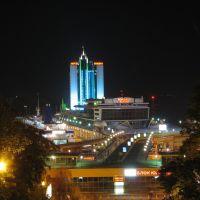 Морвокзал с Потемкинской лестницы, Одесса