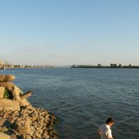 Port of Reni wieu from a considerable distance, Рени