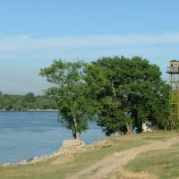 Danube near Reni, Рени