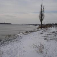 Danube river, Reni, Рени