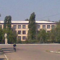 Школа(вид с центра), Сарата
