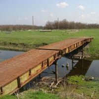 ТММ-3  (тяжелый механизираванный мост) - то немногое, что осталось от воинской части, Сарата