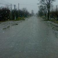 ул.Ленина зимой, Ширяево