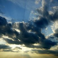 Sunset in Yuzhny, Южный