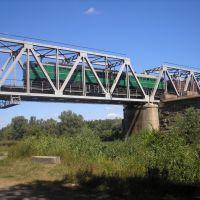 Жд мост возле ст. Лещиновка, Белики