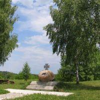 памятник « Козакам Богацької сотні», Великая Багачка