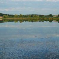 Панорама на ставок в В.Багачці, Великая Багачка