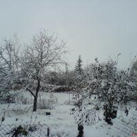 Зима, Глобино
