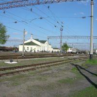 ЖД станция, Гребенка