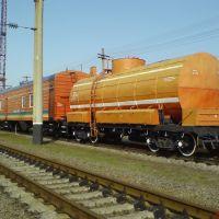 Пожарный поезд, Гребенка