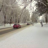 Диканька зимой, Диканька