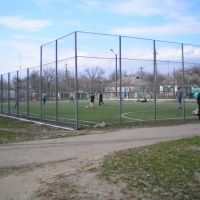 Футбольний майданчик зі штучним покриттям, Кобеляки