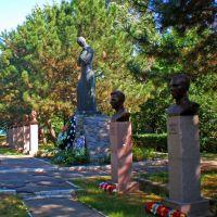 Кобеляки. Братская могила советских воинов, Кобеляки