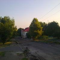 Дорога до центру Козельщини, Козельщина