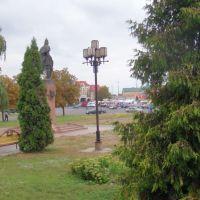 Сквер напротив рынка, Лубны