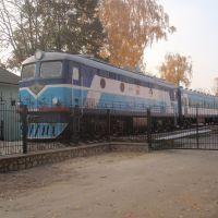Памятник поезду, Лубны