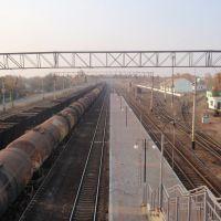 Вид с моста, Лубны
