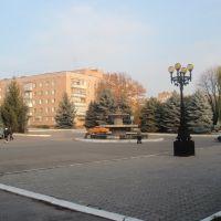 Привокзальная площадь в Лубнах, Лубны