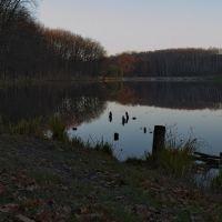 Озеро вечером, Лубны