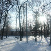 Парк зимой, Машевка