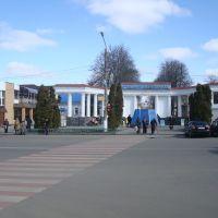 Курорт, центральный вход, Миргород