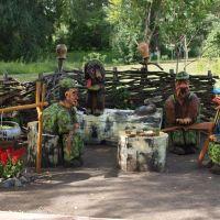 Охотники на привале / Hunters at кest, Миргород