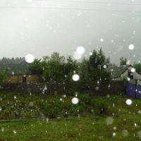 Дождь / rain, Новые Санжары