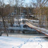 Подвесной мост, Новые Санжары