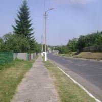 Дорога до автоколони, Новые Санжары