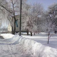 Школа зимой, Оржица