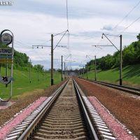 Перегон Марьяновка - Гребёнка, граница ЮЖД, Оржица