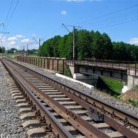Мосты через р. Оржица, перегон Гребёнка - Марьяновка, Оржица