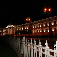 Ночью в центре. Мерия., Полтава