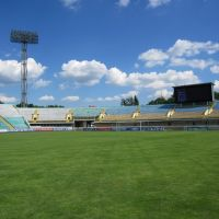 UKRAINE - Poltava - Football stadium, Полтава
